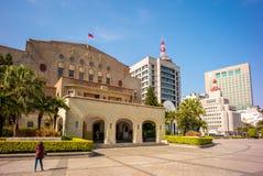 Zhongshan Corridoio nella città di Taipei Fotografie Stock Libere da Diritti