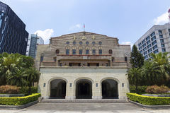 Zhongshan Corridoio nella città Taiwan di Taipei Fotografie Stock Libere da Diritti