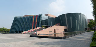 Zhongshan Culture and Art Center Royalty Free Stock Images