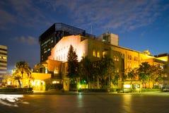 Zhongshan Hall in Taipei city. Night view of Zhongshan Hall Royalty Free Stock Photo