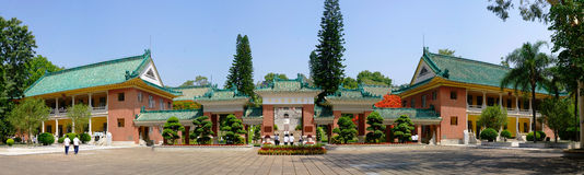 Zhongshan Memorial Middle School Royalty Free Stock Image