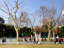 Zhongshan Park rest area Stock Images