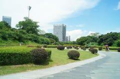 Zhongshan Park of Shenzhen. Shenzhen Zhongshan Park landscape, in china Stock Images