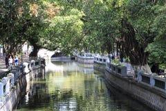 Zhongshan parkerar Arkivfoton