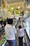 Zhongshan, porcelaine : marché superbe de tête d'avant-garde Images stock