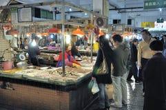 Zhongshan, Porzellan: Markt Lizenzfreie Stockbilder