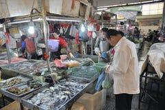 Zhongshan, Porzellan: Markt Stockfoto