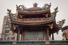 Zhongshan temple in Taipei, Taiwan.  Royalty Free Stock Photo