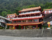 Zhongshan temple at Taroko National Park in Hualien, Taiwan.  Stock Photo