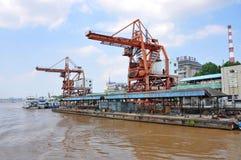 Zhongshan Wharf, Nanjing, China Royalty Free Stock Photo