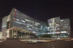 Zhonguancun office buildings at night, Beijing, China Stock Photography