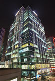 Zhonguancun office buildings at night, Beijing, China. BEIJING-NOV. 14. Zhonguancun office buildings at night time. Since 1999 the area became the Zhongguancun Royalty Free Stock Images