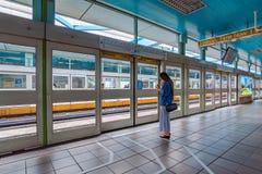 Zhongxio που MRT ο σταθμός Στοκ Φωτογραφίες