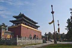 zhongyue för porslindengfengtempel Arkivbild