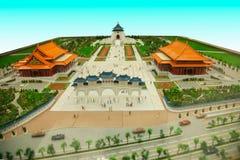 Zhongzheng District, Taipei, Taiwan, Chiang Kai-shek Memorial Hall miniature sandbox Royalty Free Stock Photography