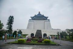 Zhongzheng okręg, Taipei, Tajwan, Chiang Kai-shek Memorial Hall, wolność kwadrat Zdjęcie Stock