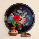 Zhostovo painting Royalty Free Stock Photo