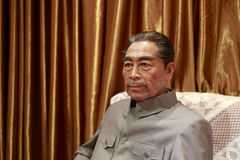 Zhou enlai  wax figure Stock Photos