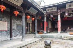 Zhou family ancestral hall Royalty Free Stock Photos