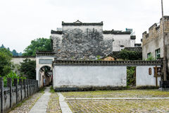 Zhou family ancestral hall Royalty Free Stock Photography