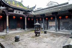 Zhou family ancestral hall Stock Photo