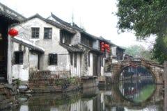 Zhou zhuang (de Stad van Zhou) Royalty-vrije Stock Foto