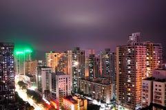 Zhouhai City by night Stock Photo