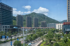 Zhoushan Apartment Buildings Royalty Free Stock Photography