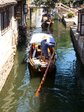 Zhouzhuang. No1 water country of china——zhouzhuang,The ship is an important transport Stock Image
