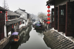 zhouzhuang 免版税库存图片