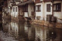 Zhouzhuang Arkivfoto