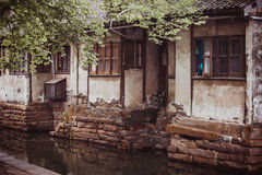 Zhouzhuang royaltyfri fotografi