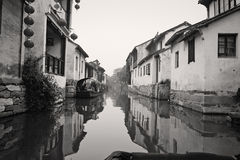 Zhouzhuang Ancient Town of China Royalty Free Stock Photography