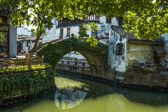Zhouzhuang- Ancient Town -5 royalty free stock photos