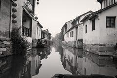 zhouzhuang antique de ville de porcelaine Photographie stock libre de droits