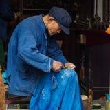 Zhouzhuang antyczna wodna wioska Zdjęcia Royalty Free