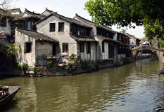 ZhouZhuang, China Lizenzfreie Stockbilder
