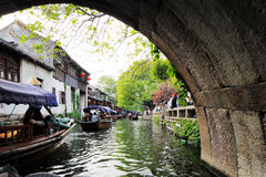 Zhouzhuang in China is known as the Venice of the East Stock Image