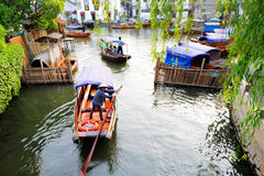 Zhouzhuang in China is known as the Venice of the East Royalty Free Stock Images