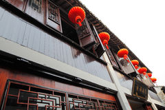 Zhouzhuang in China is known as the Venice of the East Royalty Free Stock Photography