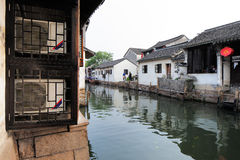 Zhouzhuang in China is known as the Venice of the East Stock Photo