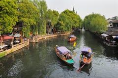 Zhouzhuang en China se conoce como la Venecia del este imagen de archivo libre de regalías