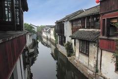 Zhouzhuang scena Fotografia Stock