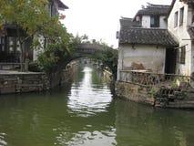 Zhouzhuang, Shangai, China foto de archivo