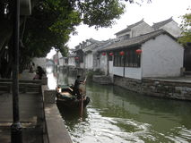 Zhouzhuang, Shanghai, China fotos de stock