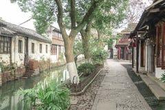 Zhouzhuang Water Village royalty free stock image