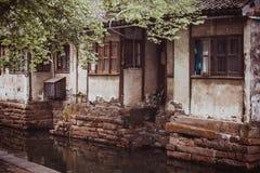 Zhouzhuang. Travel in Asia.  Zhouzhuang - ancient town in Jiangsu province, China Royalty Free Stock Photography