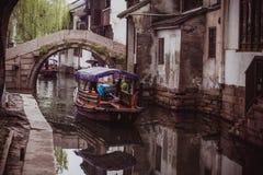 Zhouzhuang. Travel in Asia.  Zhouzhuang - ancient town in Jiangsu province, China Stock Photography