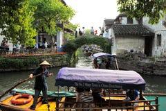 Zhouzhuang w Chiny zna jako Wenecja wschód Zdjęcia Royalty Free