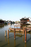 Zhouzhuang water village Royalty Free Stock Photography